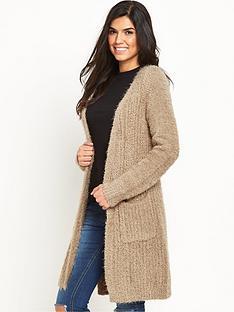 v-by-very-fluffy-yarn-side-split-cardigan