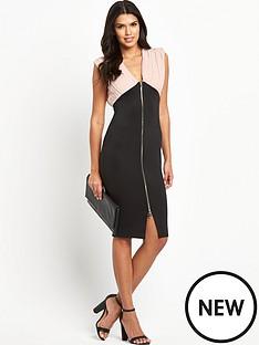 ax-paris-ax-paris-2-in-1-zip-front-midi-dress