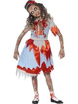 Zombie Country Girl - Childs Costume