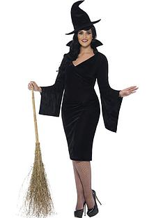 Fancy dress costumes womens fancy dress littlewoods curves witch hat adults plus size costume solutioingenieria Choice Image