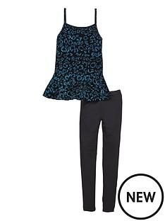 freespirit-girls-velour-peplum-top-and-leggings-set-2-piece