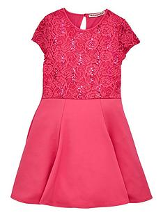 freespirit-girls-fit-and-flare-lace-sparkle-dress