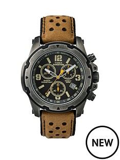 timex-timex-expedition-chronograph-black-dial-with-tan-leather-strap-mens-watch