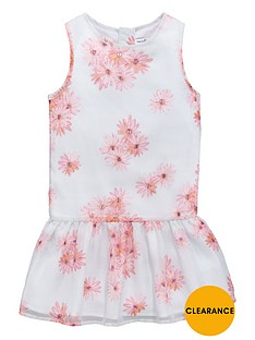 french-connection-girls-floral-drop-waist-dress