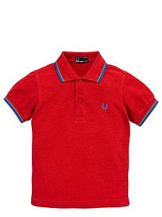 fred-perry-ss-tipped-polo-deep-red-marl