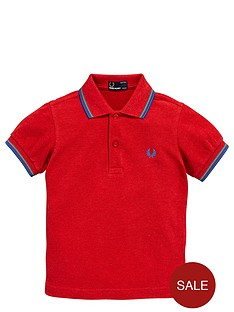 fred-perry-younger-boys-tipped-polo-shirt