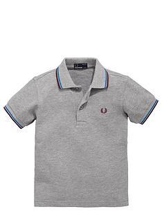 fred-perry-ss-tipped-polo-steel-marl