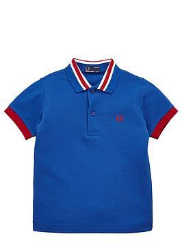 fred-perry-boys-stripe-collar-polo-shirt