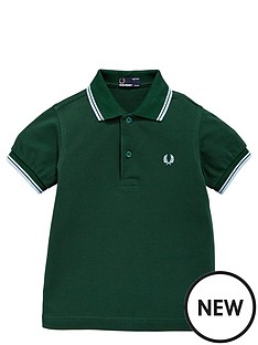 fred-perry-ss-tipped-polo-ivy