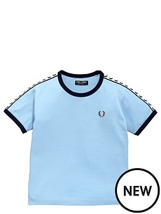 fred-perry-laurel-tape-tee