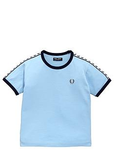 fred-perry-younger-boys-laurel-tape-t-shirt