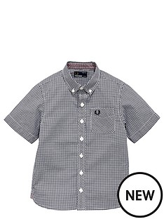 fred-perry-ss-gingham-shirt