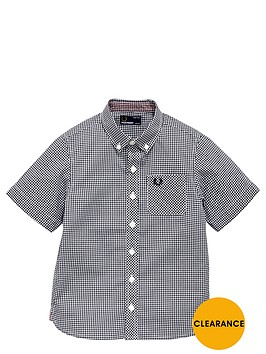 fred-perry-younger-boys-short-sleeve-gingham-shirt