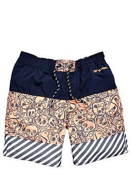 animal-boys-skull-swim-shorts