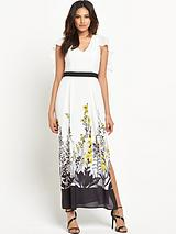 MISS SELFRIDGE TRAILING FLORAL MAXI
