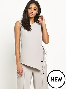 miss-selfridge-wrap-tie-detail-tunic-topnbsp