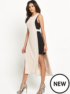 miss-selfridge-miss-selfridge-trim-side-tunic-dress