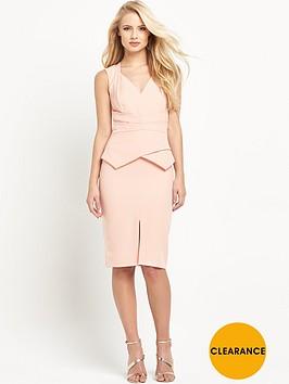 miss-selfridge-origami-pencil-dress