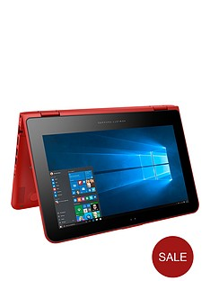 hp-pavilion-x360-11-k102na-intel-celeron-4gb-ram-500gb-storage-116-inch-touchscreen-2-in-1-laptop-sunset-red
