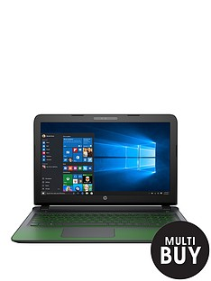 hp-pavilion-15-ak000na-intelreg-coretrade-i5-processor-8gb-ram-1tb-hard-drive-156-inch-gaming-laptop-with-4gb-nvidia-graphics-and-optional-microsoft-office-365-black