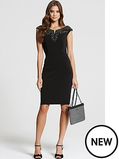 little-mistress-little-mistress-bardot-embellished-dress