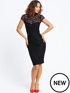 myleene-klass-lace-pencil-dress