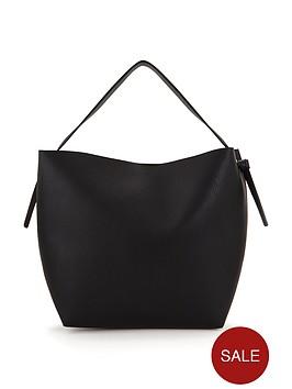 knotted-side-slouch-shoulder-bag