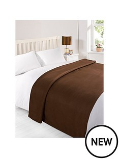 plain-fleece-blanket-dark-chocolate