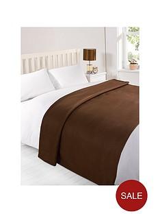 plain-fleece-blanket-dark-chocolate