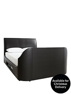 maximus-tv-media-bed-frame-with-mattress-options-and-next-day-delivery