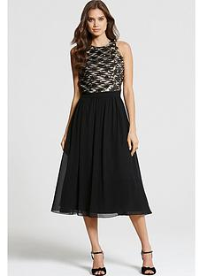 little-mistress-little-mistress-crossover-fit-and-flare-dress
