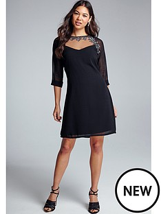 little-mistress-embellished-tunic-dress