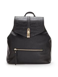 miss-selfridge-miss-selfridge-backpack