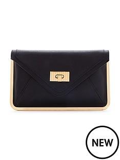 miss-selfridge-gold-toned-frame-envelope-clutch-bag