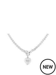 keepsafe-keepsafe-personalised-heart-sterling-silver-chunky-belcher-necklace