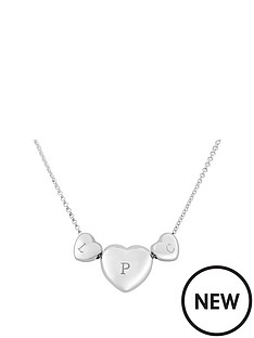 keepsafe-keepsafe-personalised-sterling-silver-triple-heart-pendant