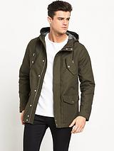 Labrador Bonded Casual Hooded Coat