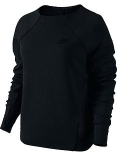 nike-tech-fleece-mesh-crew