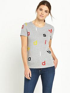 adidas-originals-letters-fitted-t-shirtnbsp