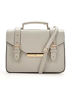 contrast-fabric-satchel