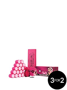 sleep-in-rollers-pink-rollers-gift-set