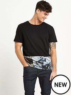 river-island-floral-hem-mens-t-shirt