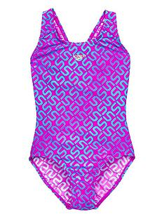 speedo-speedo-girls-printed-monogram-splashback-swimsuit