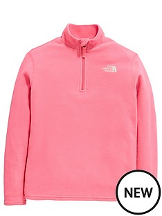 the-north-face-the-north-face-older-girls-glacier-14-zip-fleece-top
