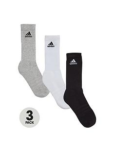 adidas-adidas-3-pack-of-3s-crew-half-cushion-socks