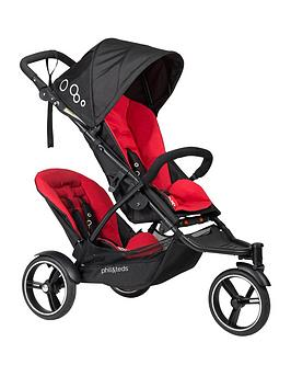 phil-teds-dot-pushchair-amp-double-kit-tandem