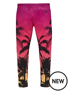 hurley-hurley-older-girls-palm-print-legging