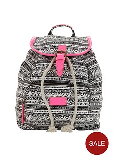 girlsnbspaztec-neon-trim-backpack