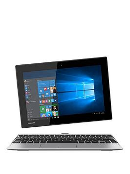Toshiba Satellite Click 10 LX0W-C-104, Intel Atom, 2GB RAM, 32GB SSD, Full HD, 10 inch Touchscreen 2-in-1 Laptop - Silver