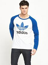 adidas originals Adi Trefoil Long Sleeve T-shirt